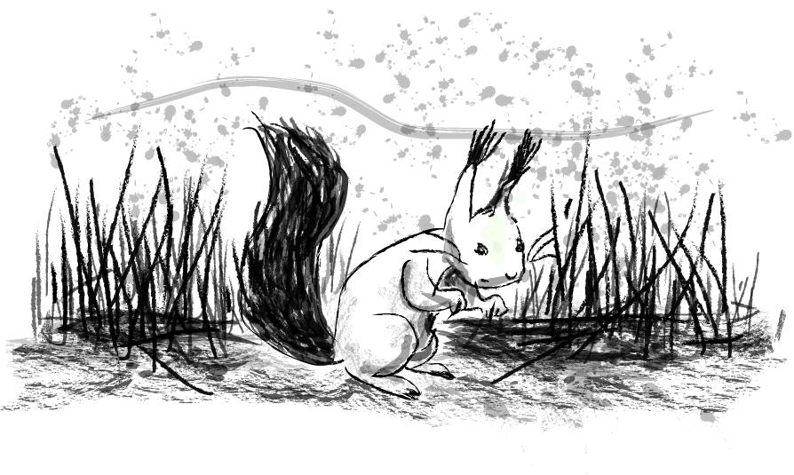 Koulussa on Photarikurssi meneillään! Tänään kokeiltiin Adobe Illustratoria. Tietty piirsin kurren.